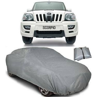 Digitru Car Body Cover for Mahindra Scorpio - Dark Grey