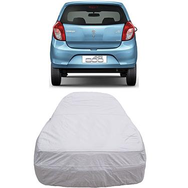 Digitru Car Body Cover for Maruti Suzuki Alto 800 - Silver