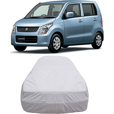 Digitru Car Body Cover for Maruti Suzuki Wagon R - Silver