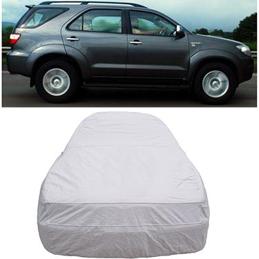 Digitru Car Body Cover for Toyota Fortuner - Silver