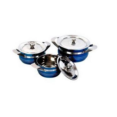 Elegante 3 - Piece Cookware Set(Blue)  EHPEPCS0017