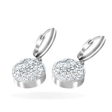 Mahi Rhodium Plated Artificial Earrings_Er1104053r