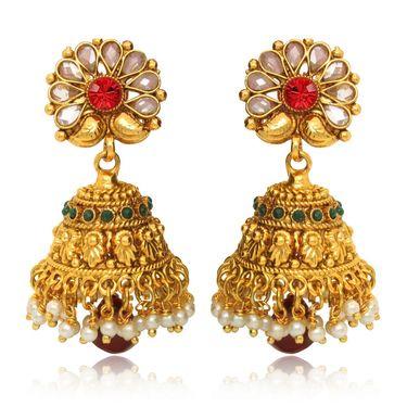 Branded Gold Plated Artificial Earrings_Er30008g