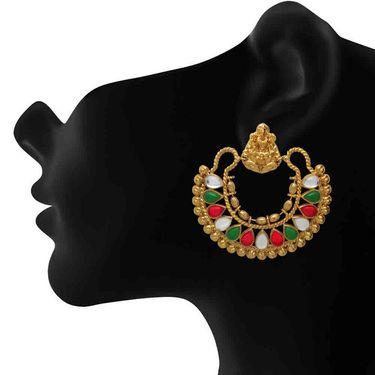 Branded Gold Plated Artificial Earrings_Er30031g