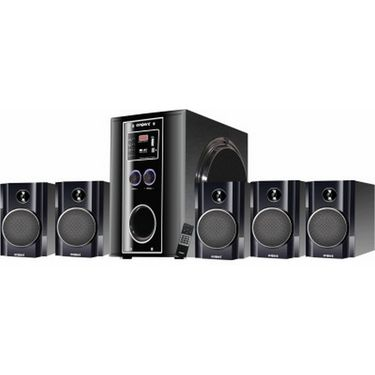 Envent 5.1 Truewood Deejay Rock+ Home Theatre Speaker with 40 RMS