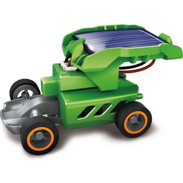 Kids 7in1 Rechargeable Solar Powered Educational Toy Kit-Multicolor
