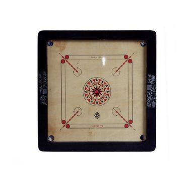 Facto Power Carrom Board - 6 Mm (35 X 35 Inch, 3X1.5 Inch Border)