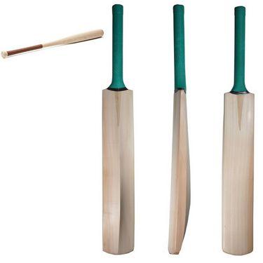 Facto Power Nude Kashmir Willow Cricket Bat + Base Ball Bat