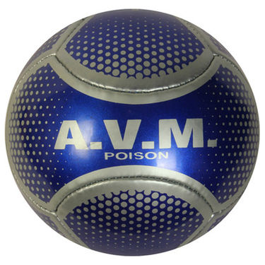 AVM Poison Football Blue Grey - Size Standard,  Dia 22 cm