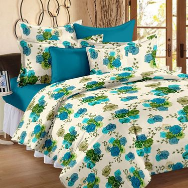 Story @ Home White 1 Double Queen size Dohar/AC Quilt-FB1209