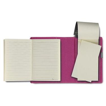 Flex Filled Pocket Note Book - Magenta
