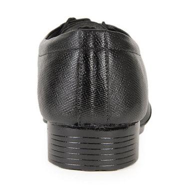 Foot n Style Elegant Derby Shoes - Black