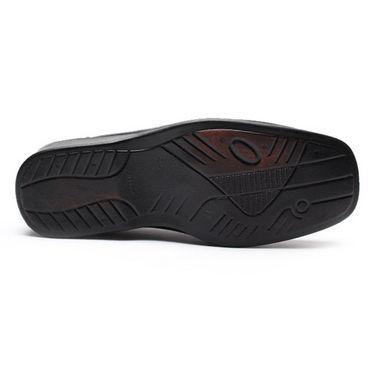 Foot n Style Smart Slip on Shoes - Black-4938