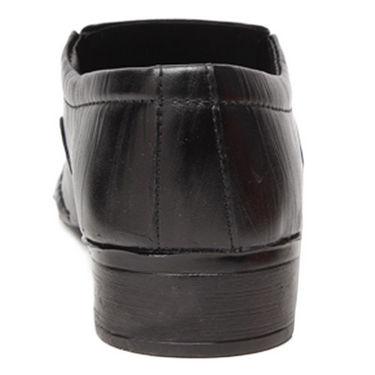 Foot n Style Smart Slip on Shoes - Black-4939
