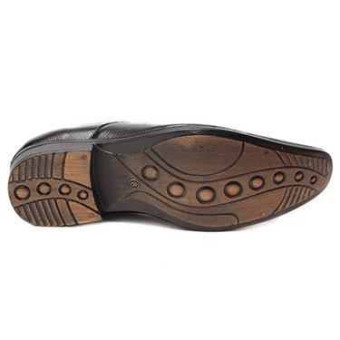Foot n Style Stylish Slip on Shoes - Black-4937