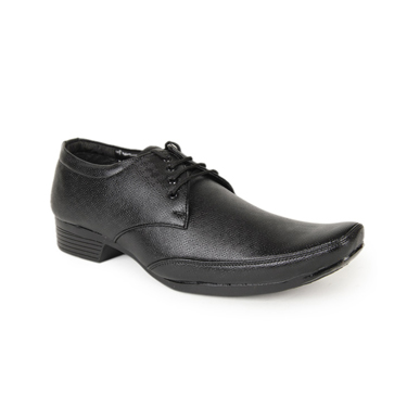 Foot n Style Faux Leather Formal Shoes  FS106 - Black