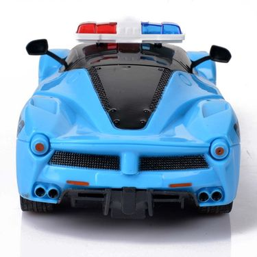 Full Function RC Police Chasing Car With Gravity Sensing Steering Remote
