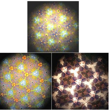 Adraxx Fun Colourful Big Kaleidoscope - Multicolor