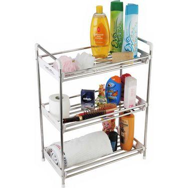 Cipla Plast Multipurpose Kitchen/Bathroom/Home Utility Rack