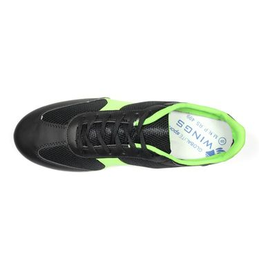 Globalite Mesh Casual Shoes GSC0319 -Black Lime
