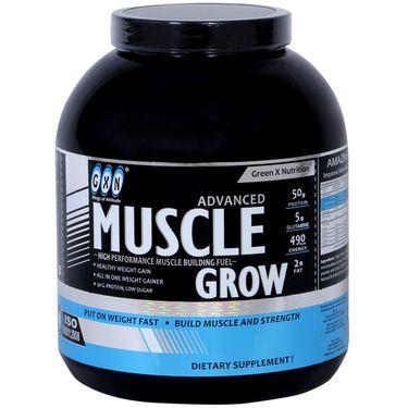 GXN Advance Muscle Grow 4 Lb (1.81kg) Banana Flavor