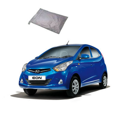 Galaxy Car Body Cover Hyundai EON - Silver