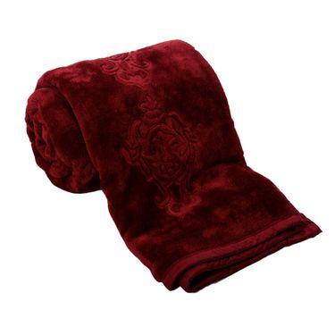 eCraftIndia Designer Printed Single Bed Mink Blanket-HFSMB103