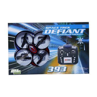 Defiant 6 Axis Gyro 4Ch RC Quadcopter - Multicolour