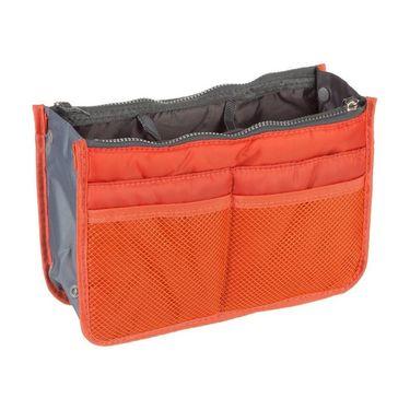 Branded Nylon Travel Organizer Ho_Orange