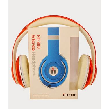 Hitech HT880 HD Headphone - Red