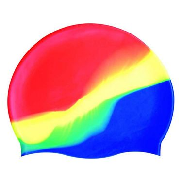 High Quality Multicolour Silicone Swimming Cap Swim Head Cover Hair Protection