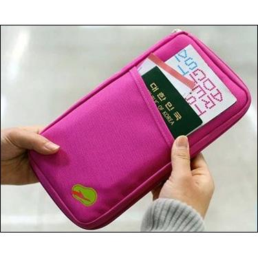 Homesmart Passport Organizer - Hot Pink