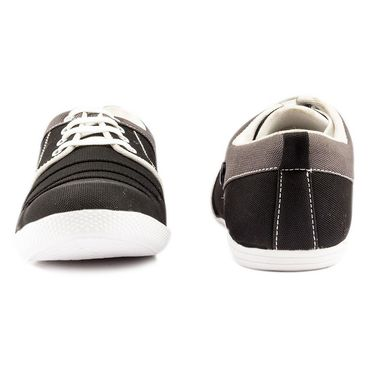 Canvas Black Casual Shoes -bn8