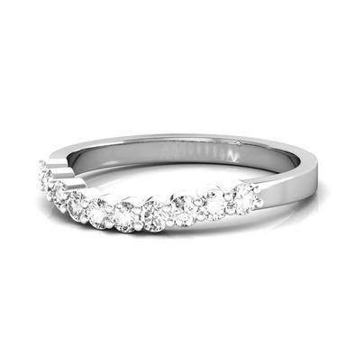 Avsar Real Gold & Swarovski Stone Samita Ring_I059wb