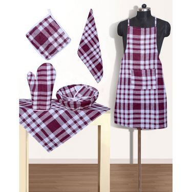 RNG Set of 6 Kitchen Linen Set IWS-APRS-20