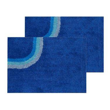 10 Piece Home Decor Combo (IWS 2 Bedsheet with 4 Pillow Covers + 2 Door Curtains + 2 Mats) -IWS-JC-14