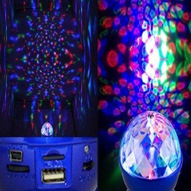 Branded 360 Rotating Light Speakers