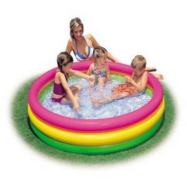 Inflatable 5 ft Kids Water Pool