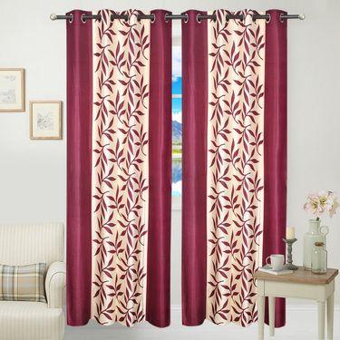 JBG Home Store Set of 2 Beautiful Design Door Curtains-JBG901_1MKD