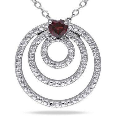 Kiara Swarovski Signity Sterling Silver Supriya Pendant_Kip0516