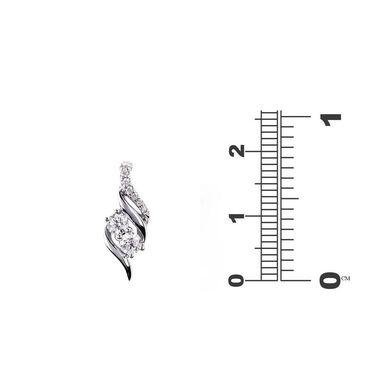 Kiara Swarovski Signity Sterling Silver Sarthi Pendant_Kip0557