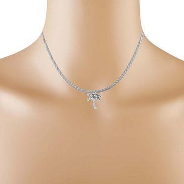 Kiara Swarovski Signity Sterling Silver Renuka Pendant_Kip0578
