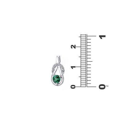 Kiara Swarovski Signity Sterling Silver Priyanka Pendant_Kip0601
