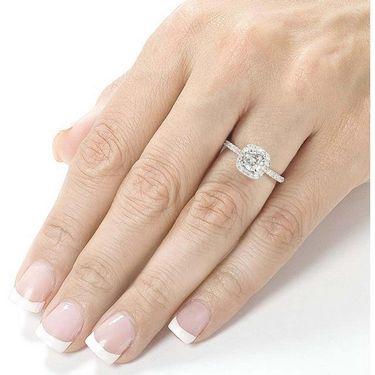 Kiara Swarovski Signity Sterling Silver Sushmita Ring_Kir0699 - Silver