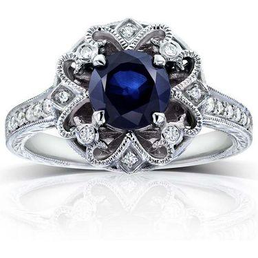 Kiara Swarovski Signity Sterling Silver Kirti Ring_Kir0703 - Silver