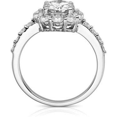 Kiara Swarovski Signity Sterling Silver Sachi Ring_Kir0713 - Silver