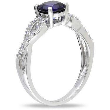 Kiara Swarovski Signity Sterling Silver Namrata Ring_Kir0728 - Silver