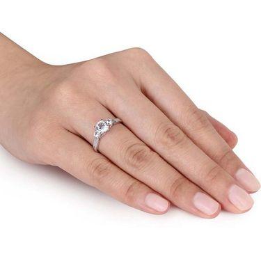 Kiara Swarovski Signity Sterling Silver Kavya Ring_Kir0730 - Silver