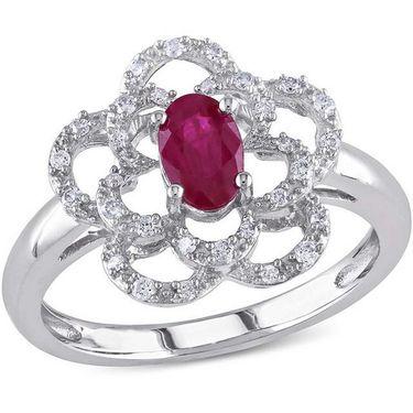 Kiara Swarovski Signity Sterling Silver Priyanka Ring_Kir0755 - Silver