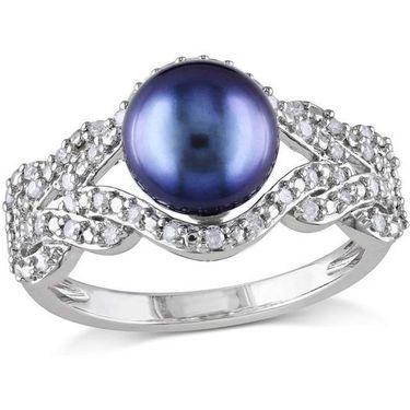 Kiara Swarovski Signity Sterling Silver Diksha Ring_Kir0803 - Silver